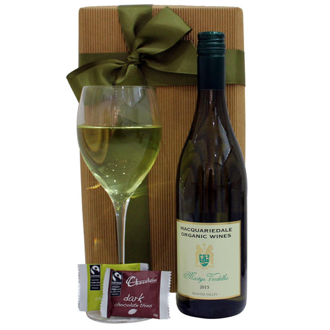 White Wine Gift Hamper - Naturally Gifted