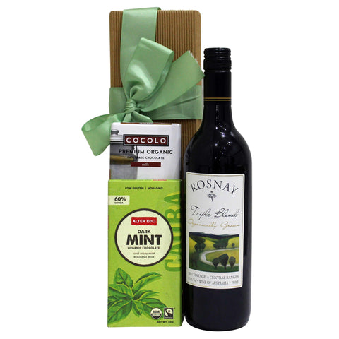 Wine Eco-Gift Hamper - Naturally Gifted
