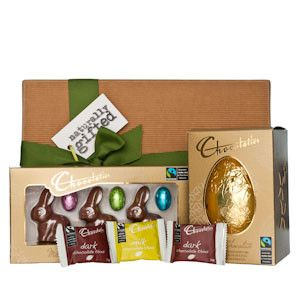 Fairtrade Easter Indulgence Hamper - Naturally Gifted
