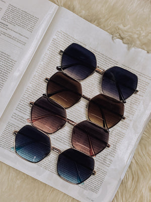 Harlow Geometric Sunglasses
