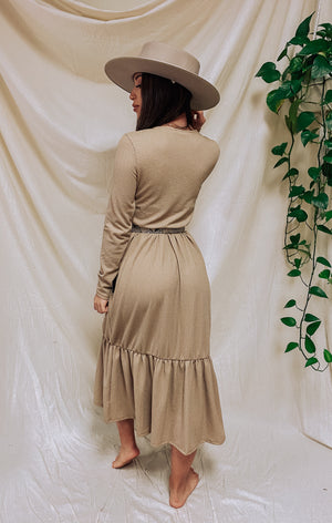 Pampas Long Sleeve Dress