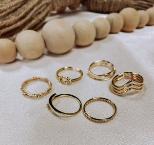 Honey Ring Set