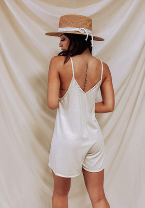 Young Love Romper- Natural