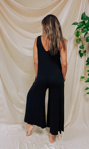 La Palma Jumpsuit - Black