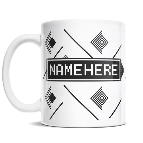 11oz Personalized Coffee Mug - Modern Play