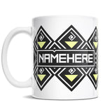 11oz Personalized Coffee Mug - Modern Dungeon Lamps
