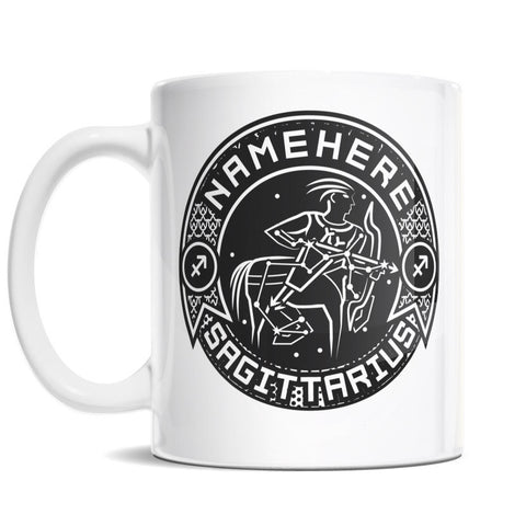 11oz Personalized Coffee Mug - Zodiac Sign of Sagittarius I