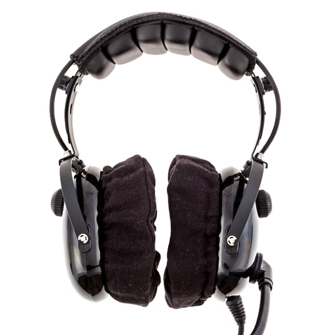 KORE AVIATION Washable Cloth Ear Cover for Aviation, Racing, Gaming, Safety Style Headsets (Sold in Pairs)