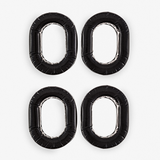 KORE AVIATION - 2 Pack - Ultra Plush Silicone Gel Ear Seal Replacement for Aviation, Racing, Safety Style Headsets (Sold in Pairs)