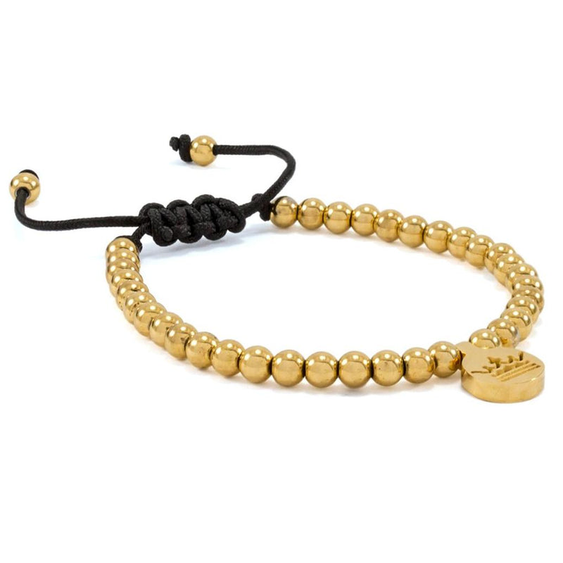 Gold Plated | Crown Charm Bracelet