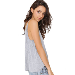 Simple Backless Tank Top