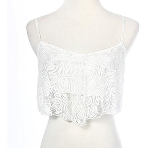 Lace-Over Breeze Top