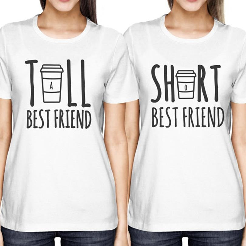 Tall & Short Best Friend Tees