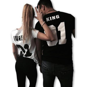 Matching King and Queen Tees