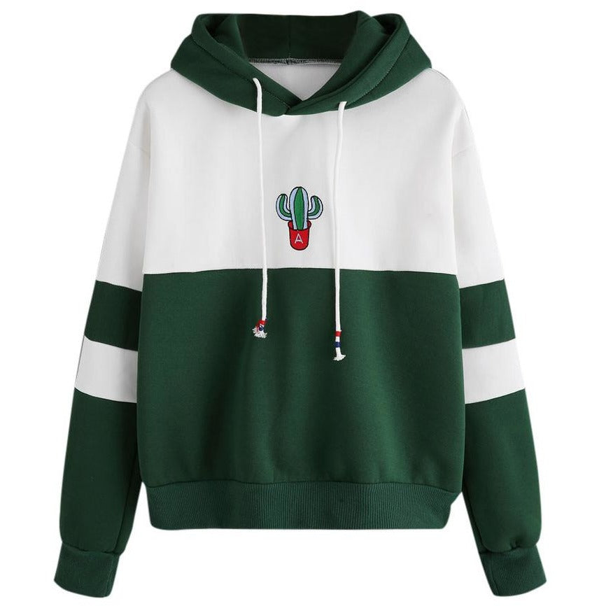 Shaded Cactus Young Jumper Hoodie