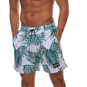 Tropical Multi-Pattern Swimshorts
