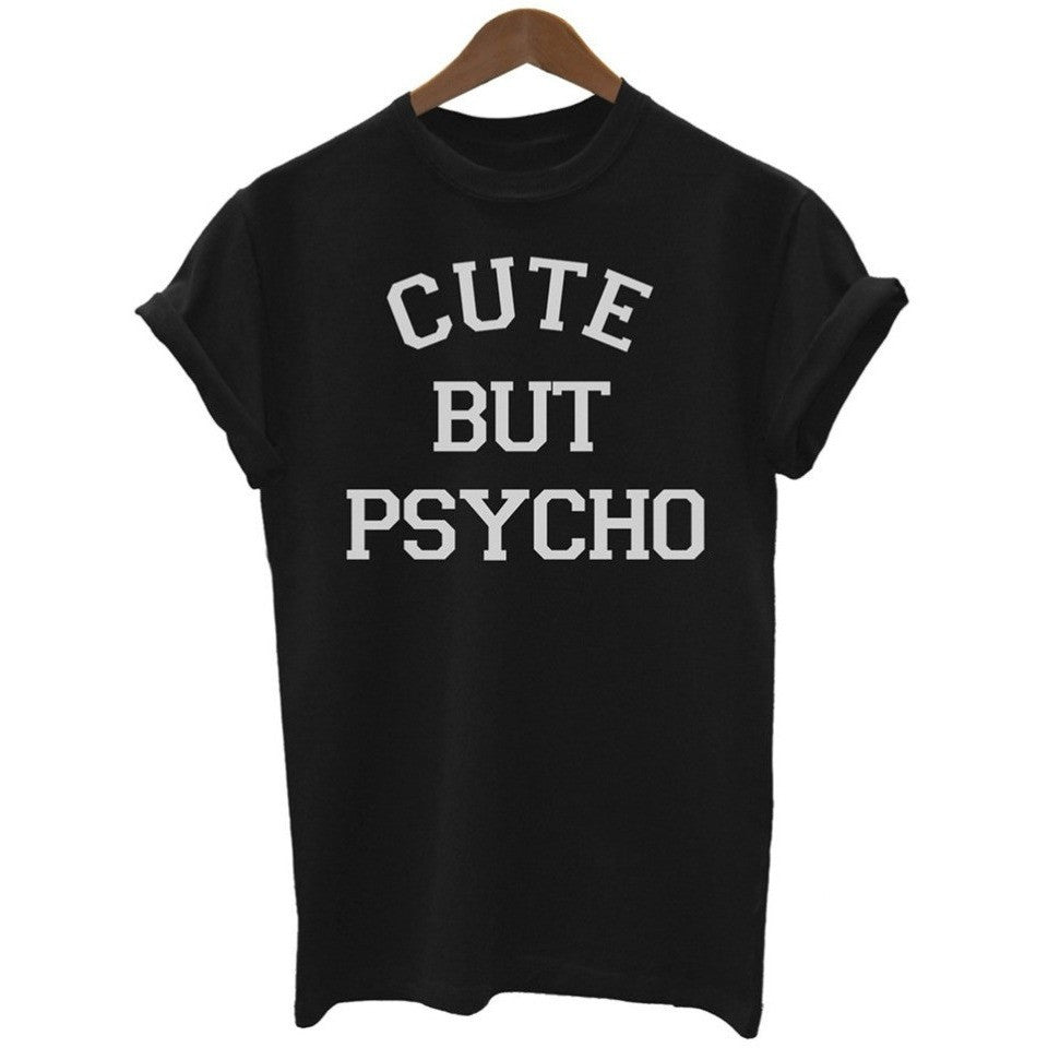 Cute but Psycho Tee - Desire Wear