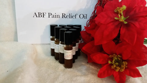 ABF Pain relief oil 0.9 fl oz.