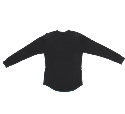 Side Zip Thermal Long Tee