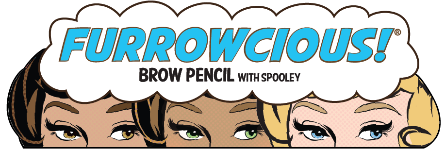 Furrowcious!® -- Brow Pencil with Spooley