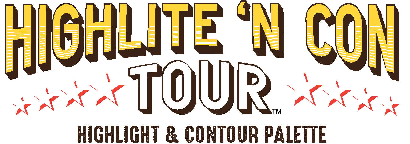 Highlite 'N Con Tour™ -- Highlight & Contour Palette
