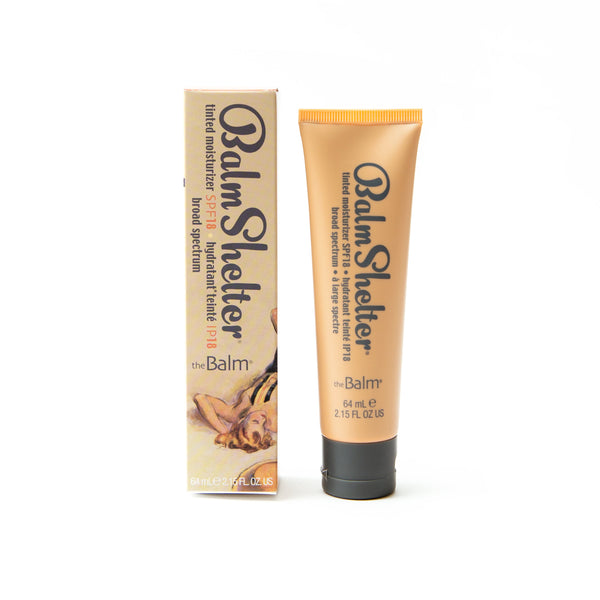 BalmShelter® Tinted Moisturizer -- Tinted Moisturizer with SPF 18