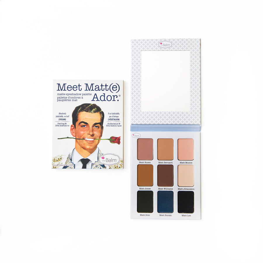 Meet Matt(e) Ador.® -- Matte Eyeshadow Palette