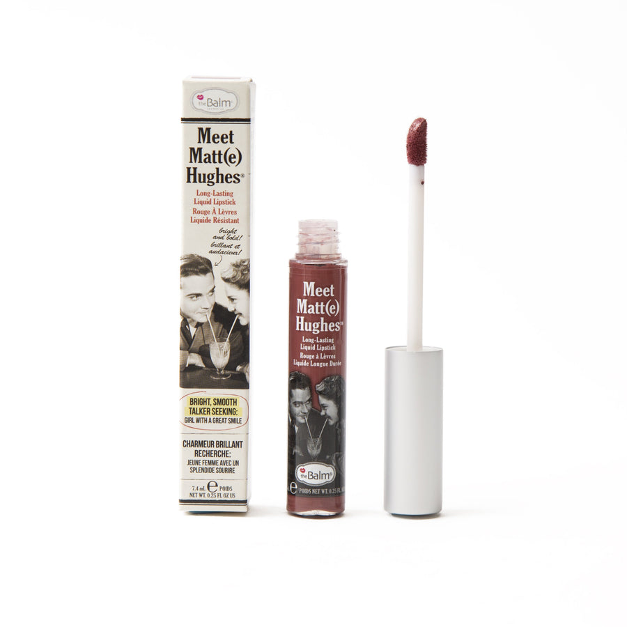 Meet Matt(e) Hughes® -- Long Lasting Liquid Lipstick - Charming