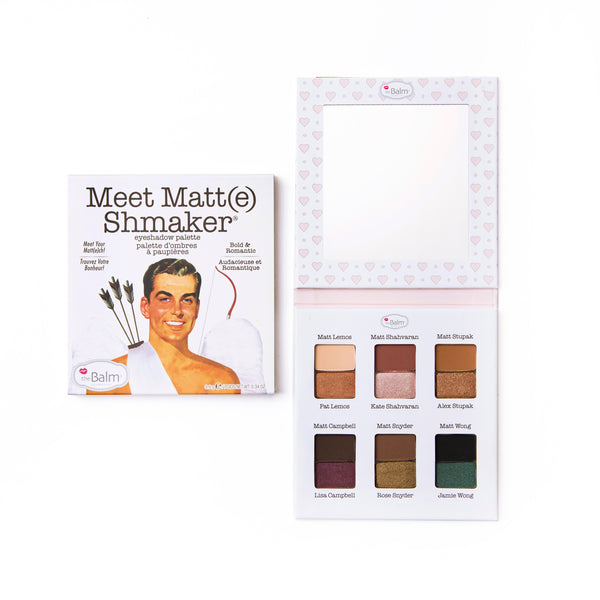 Meet Matt(e) Shmaker.® -- Eyeshadow Palette