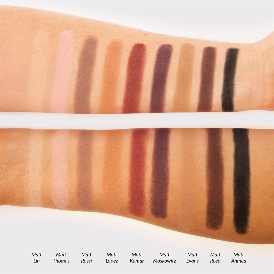 Meet Matt(e) Trimony.® -- Matte Eyeshadow Palette