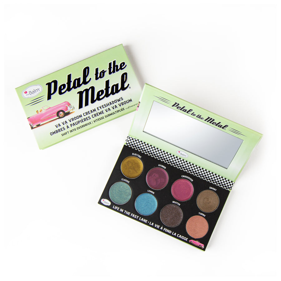 Petal to the Metal® Shift into Overdrive -- Cream Eyeshadow Palettes