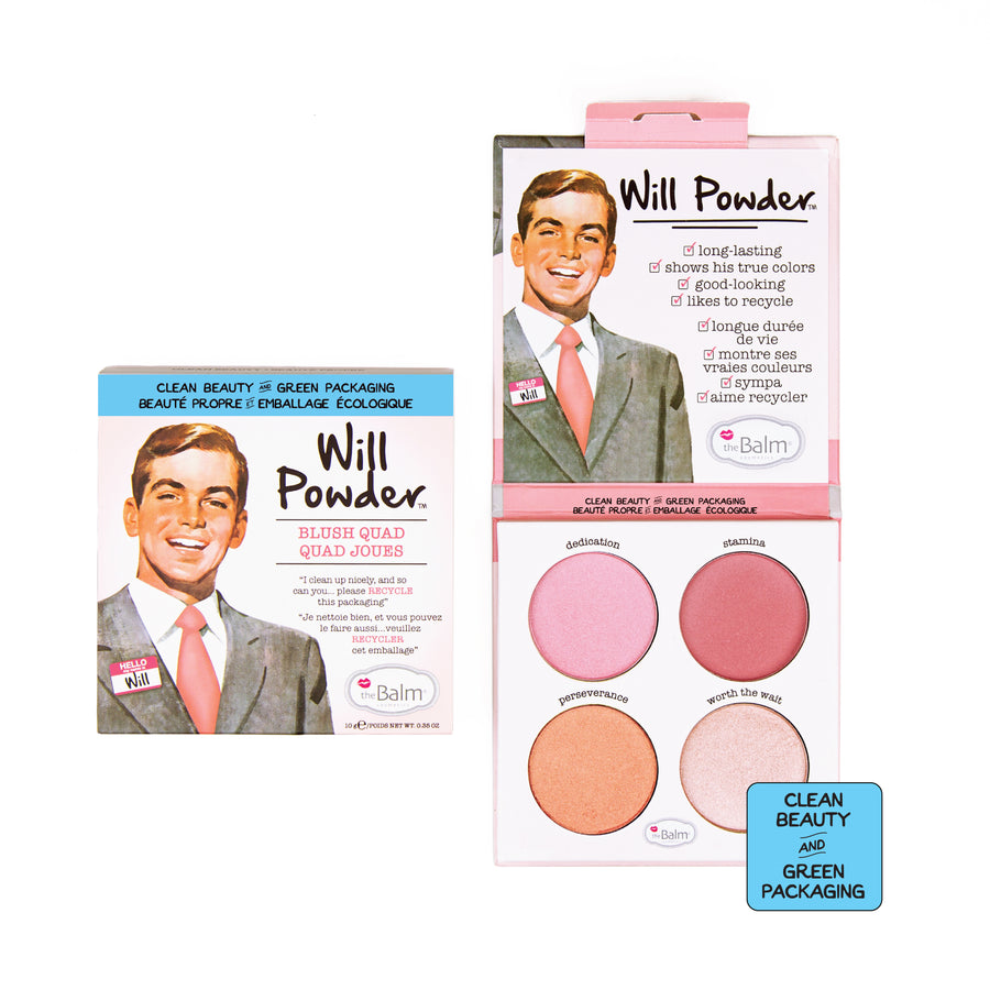 Will Powder™ -- Blush Quad