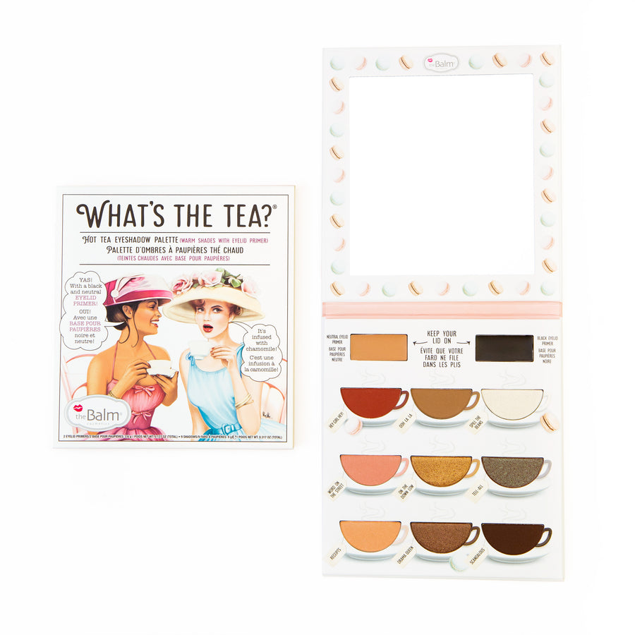 What's the Tea?® Hot Tea -- Eyeshadow Palette