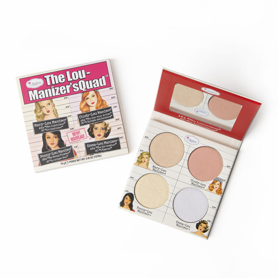 The Lou Manizer'sQuad -- Highlighter Quad