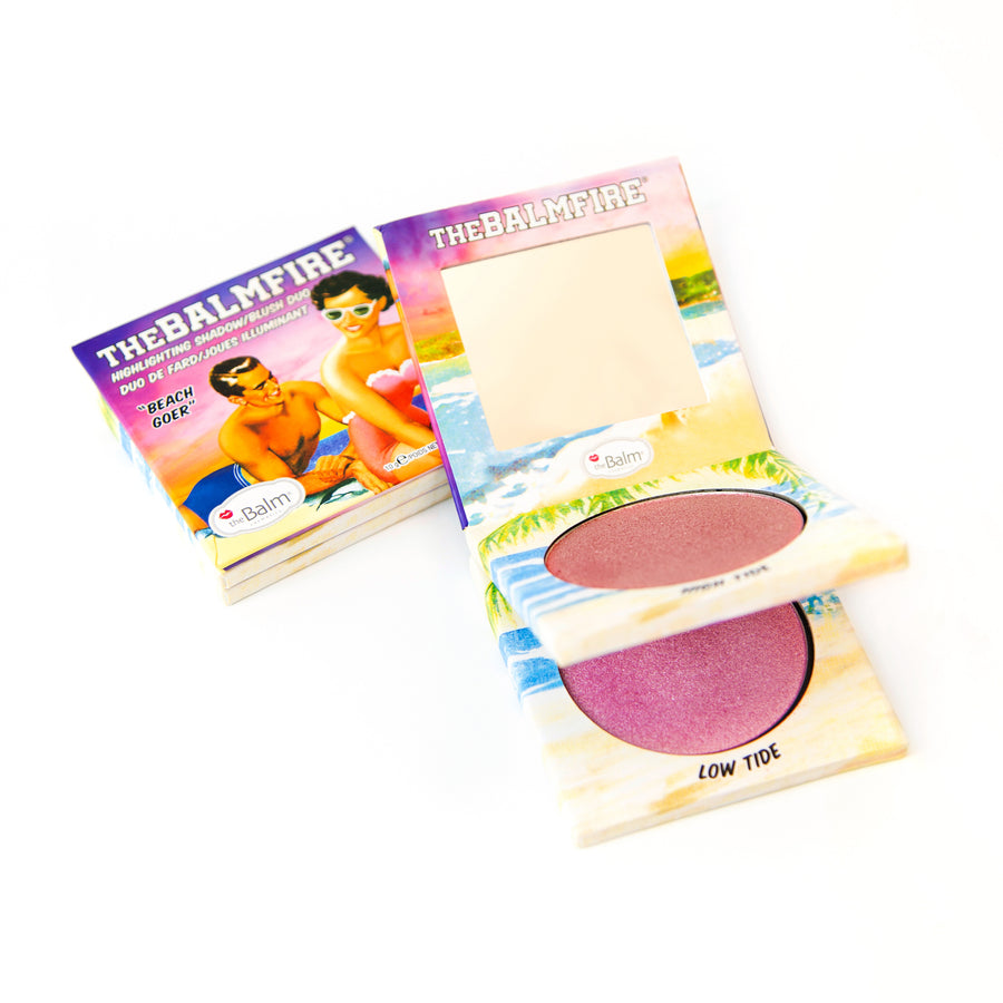 theBalmFire® BEACH GOER -- Highlighting Shadow/Blush Duo