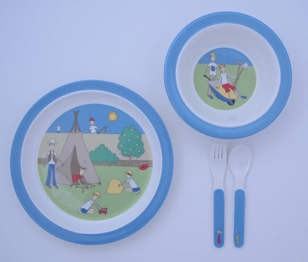 melamine set boys