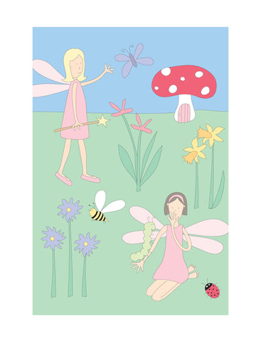 illustration small frame fairy