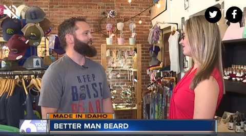Better Man Beard KIVI News Boise