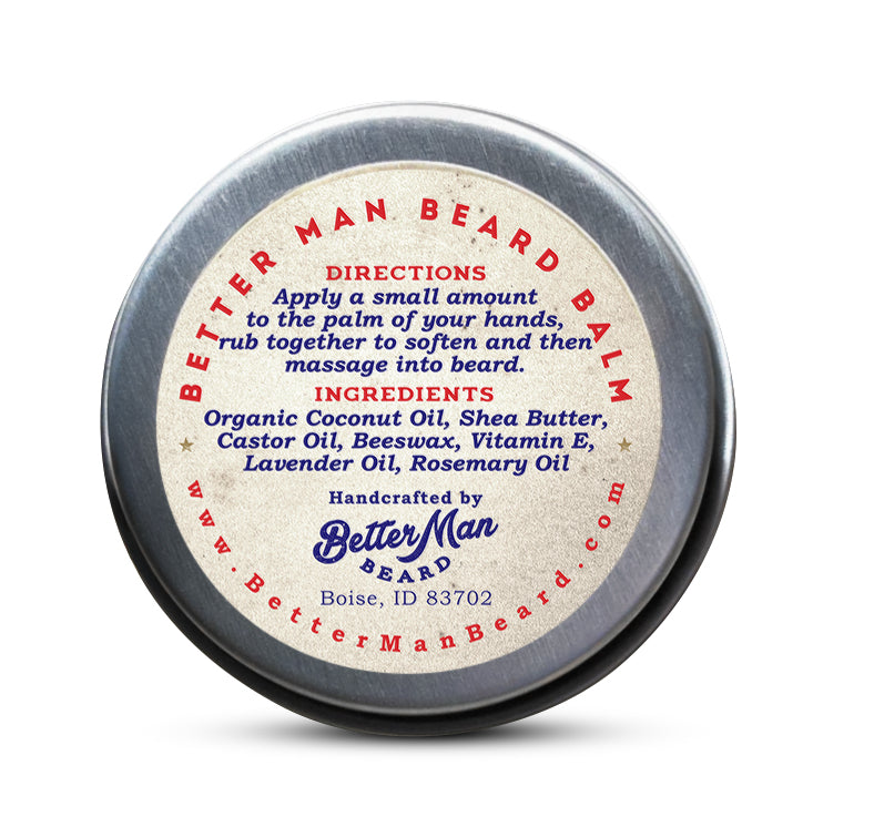 Better Man Original Beard Balm .5 oz