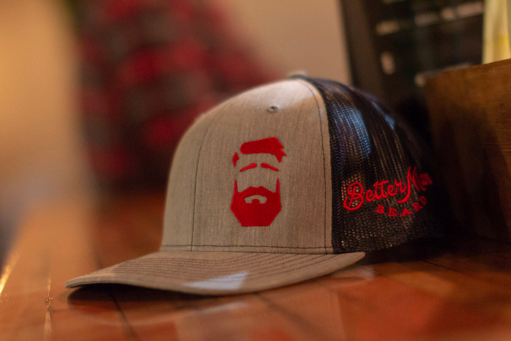 Better Man Beard Logo Hat