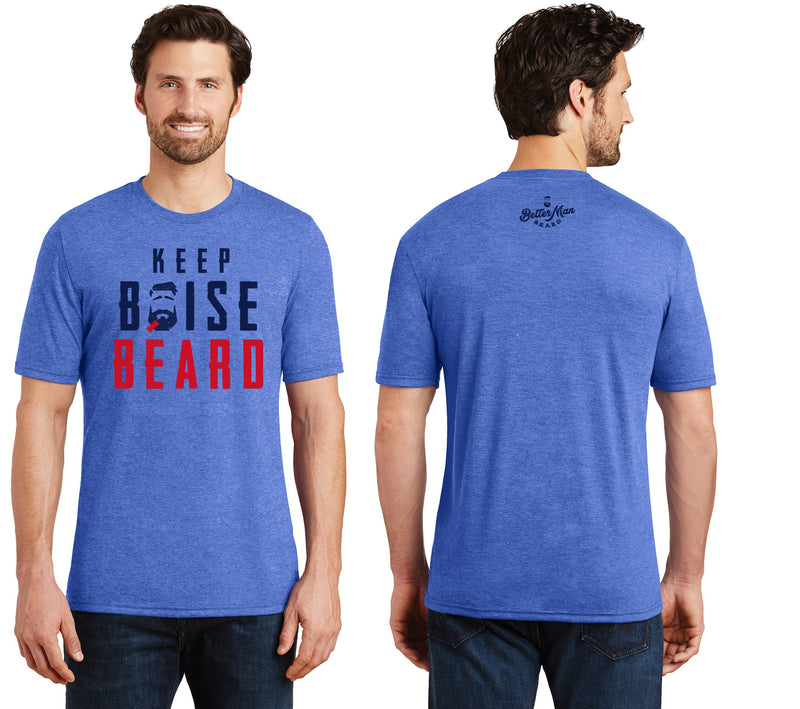 Keep Boise Beard T-Shirts