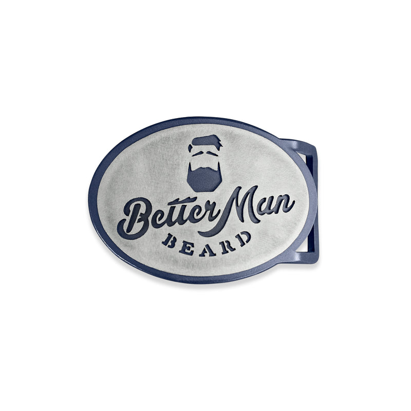 Better Man Beard Belt Buckle