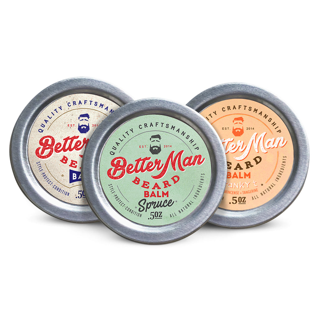 (0.5 oz) Three Scent Balm Travel Pack