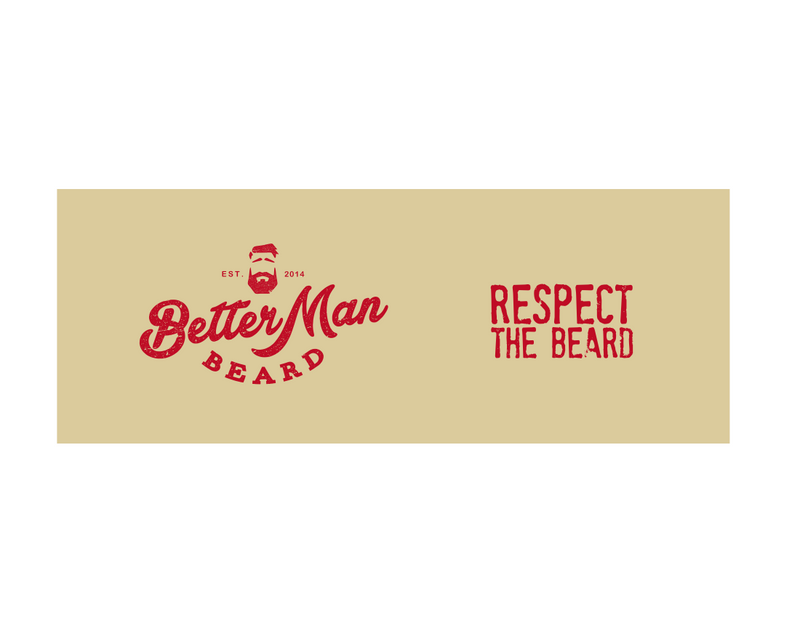Better Man Beard Slap Koozie