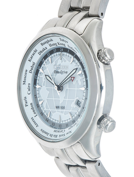 Reloj Citizen para caballero modelo World Time GMT.