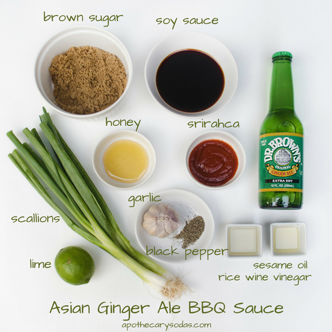 Ginger Ale BBQ Sauce