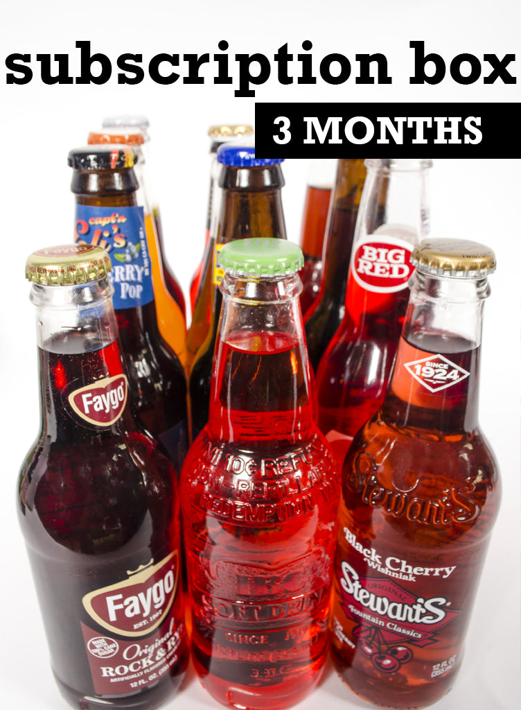 soda box subscription 3 months of curated sodas