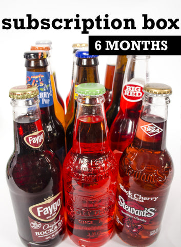 soda box subscription 6 months of curated sodas