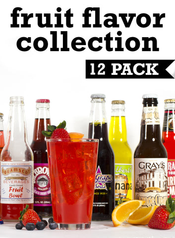 Curated Collection of Fruit Flavors, 12 pack