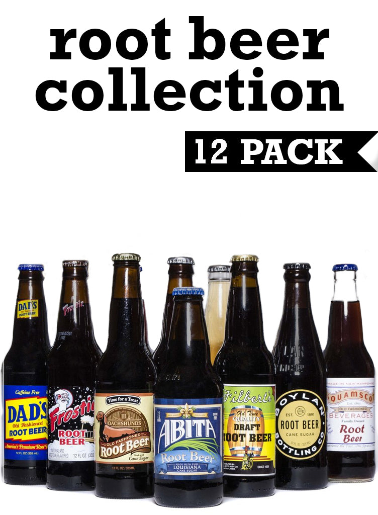 Curated Collection of Root Beer, 12 pack